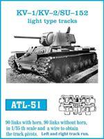 KV-1 / KV-2 / SU-152 light type tracks