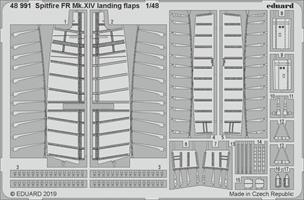 Spitfire FR Mk.XIV landing flaps Airfix 1:48