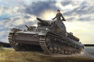German Panzerkampfwagen IV Ausf. D Tauchpanzer
