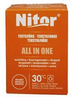 Nitor Tekstilfarge All-in-one, Oransje