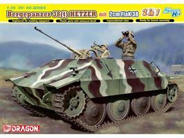 Bergepanzer 38(t) Hetzer mit 2cm FlaK 38
