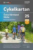 Cykelkartan blad 25 Östra Värmland Närke skala 1:90000