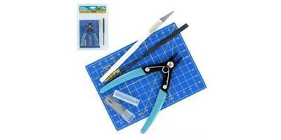 Plastic modelling tool set . 5 deler
