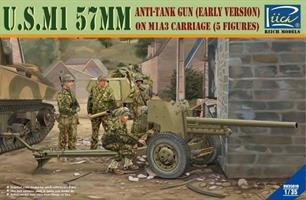 U.S. M1 57mm Anti-tank gun