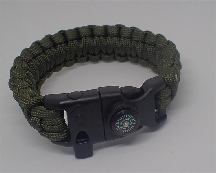 Paracord armband- olive