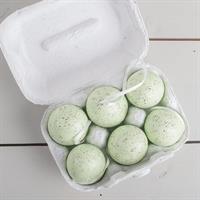 Ägg gröna, 6-p i kartong