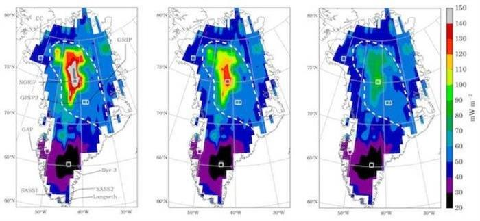 Machine learning predicts new details of geothermal heat flux beneath the Greenland Ice Sheet