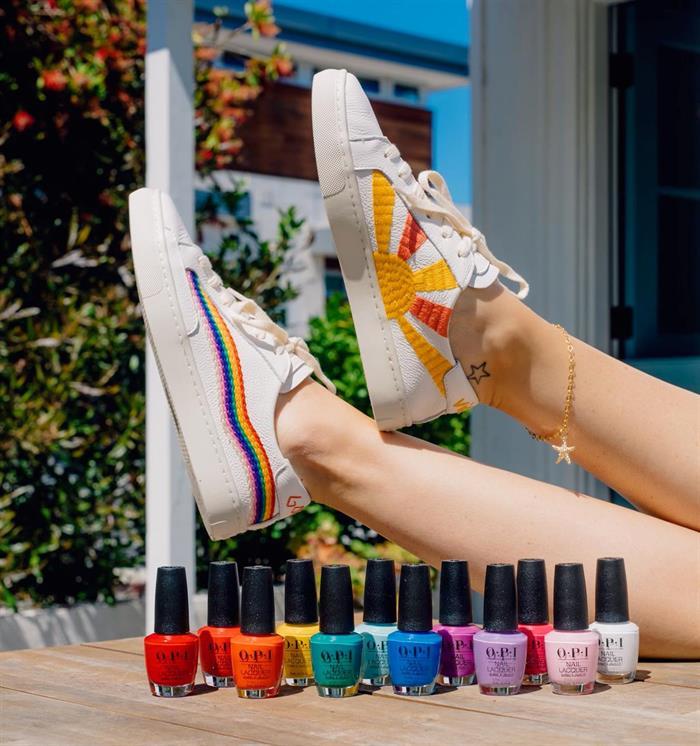 Nu kan du även få färg på tånaglarna