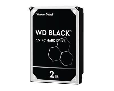"HÅRDDISK, WD 3,5"" BLACK SATA 2TB"