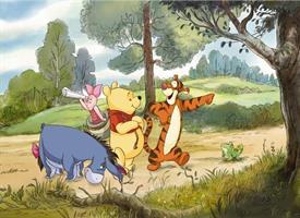 Komar fototapet Disney Winnie Expedition