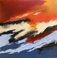 Åse Juul - Red abstraction