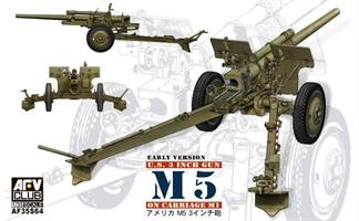 3in Gun M5 On Carriage M1