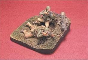U.S. Infantry (2) WWII (2 Figuren & Base)