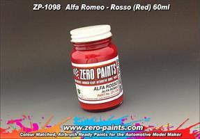 Alfa Romeo - Rosso (Red) Paint 60ml