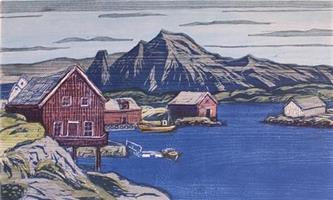 Lars Christian Istad-Blått i bukta