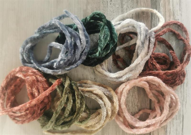 Chenille-Earth colors 8st