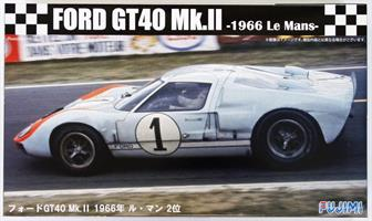 Ford GT40 Mk-II `66 LeMans 2nd