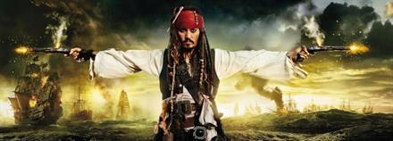 Komar fototapet Pirates & Pistols