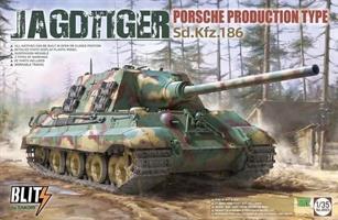 Jagdtiger Sd.Kfz. 186 Porsche Production type