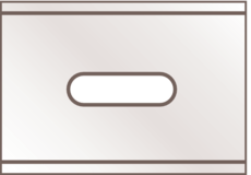 INDUSTRIAL BLADE NO. 92 Vaihtoterä 0.4 mm 10kpl