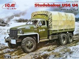 Studebaker US6 U4 WWII Army Truck