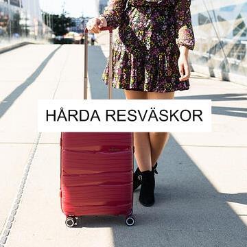 Hårda resväskor