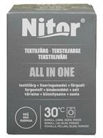 Nitor Tekstilfarge All-in-one, Grå