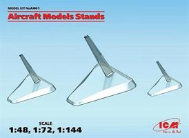 Aircraft Models Stands (1:48, 1:72, 1:144)