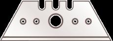MARTOR-terä TRAPEZOID BLADE NO. 5232 0,63mm