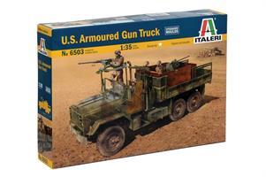 US Armoured Gun Truck
