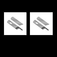 Overlockkniv, slipning 2 par