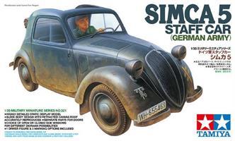 Simca 5 Staff Car (German Army)