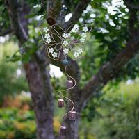 Fjäril med dekoration, självlysande, att hänga
