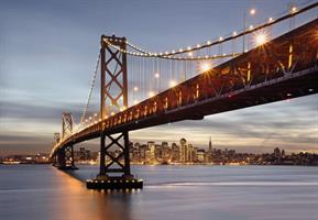 Komar fototapet Bay Bridge