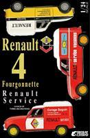 Renault 4 Fourgonnette Renault Service