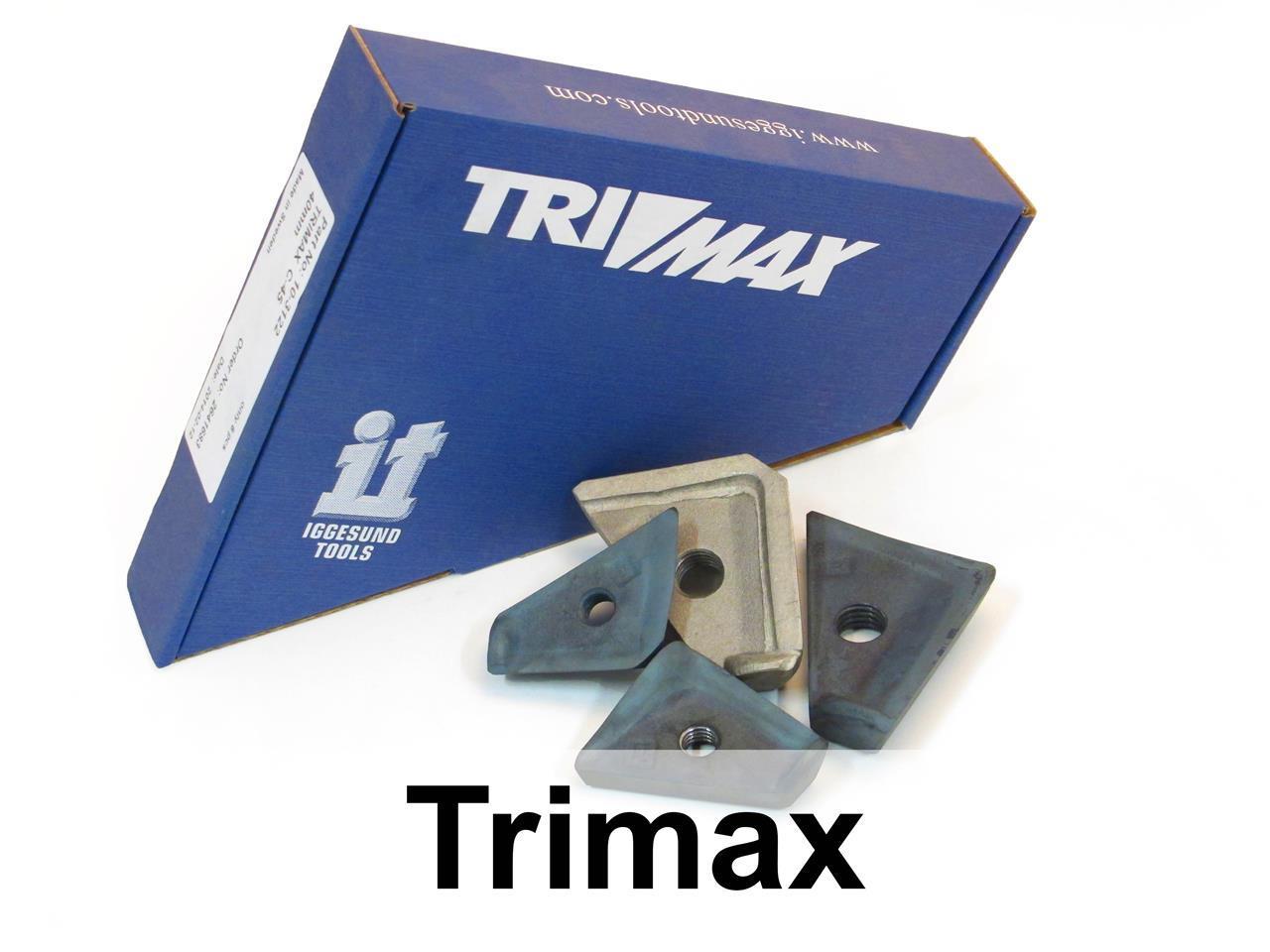 Trimax tips for Cambio Debarker