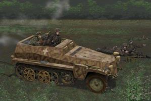 Sd.Kfz.250/7 Alte 8cm Mortar Carrier w/ Full Inter