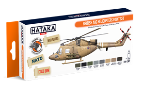 British AAC Helicopters paint set