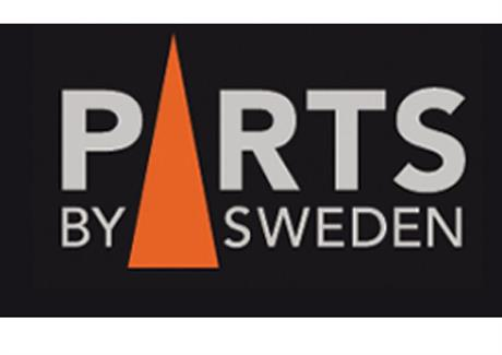 PARTS BY SWEDEN Logga