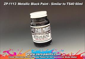 Metallic Black Paint (Similar to TS40) 60ml
