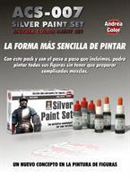 Silver Paint Set