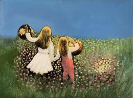 Åse Juul - I blomsterenga
