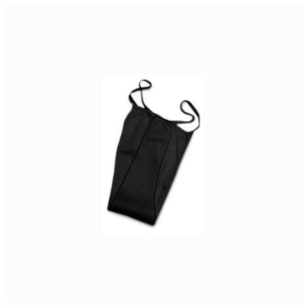 Engångstrosa G-string svart, 100st
