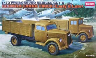 German Cargo Truck (Early & Late)
