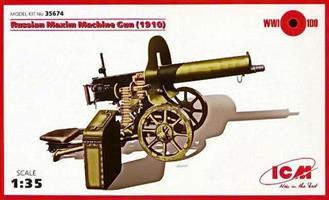 Russian Maxim Machine Gun (1910)