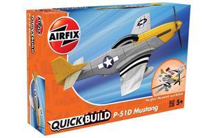 Airfix QUICK BUILD Mustang P-51D