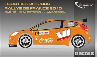 Ford Fiesta S2000 For Belkits Østberg France