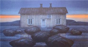 Eva Harr - Ventende hus - SOLGT