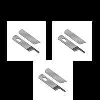 Overlockkniv, slipning 3 par
