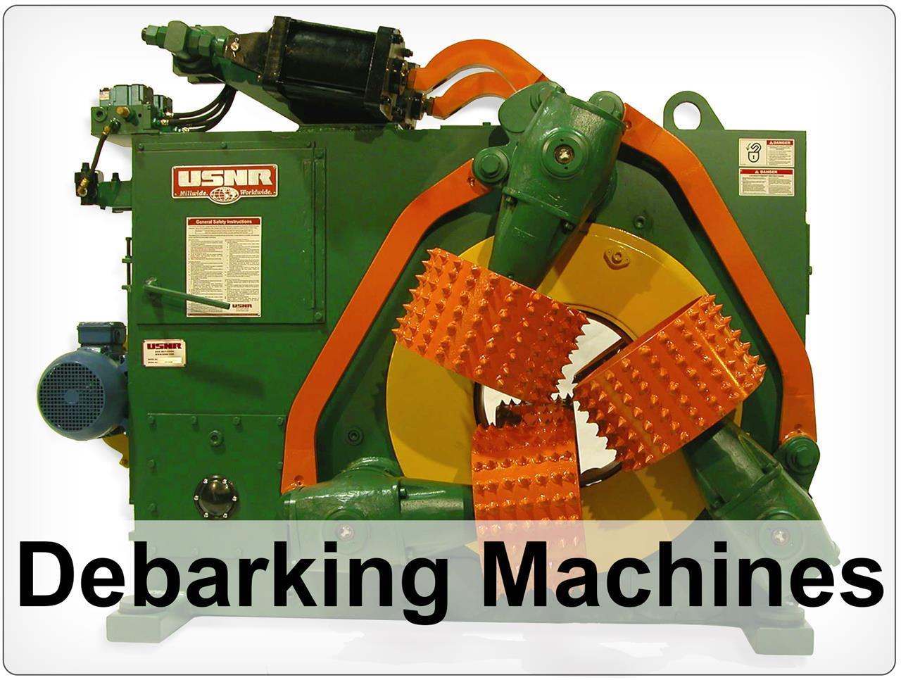 Rebuilt Cambio Debarking machine